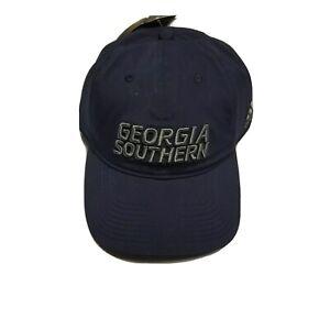 Adidas Georgia Southern Eagles Adjustable Blue Coach Hat FI3375