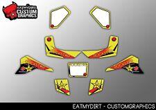 Suzuki Lt80 1987-2007 personalizado completo de gráficos Kit De Calcos Motocross calcomanías Atv Mx