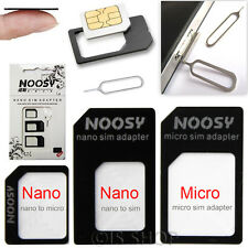 Micro SIM Card Adapter Nano Standard Size Tray Holder Kit For iPhone 6S Samsung