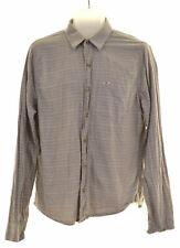 HOLLISTER Mens Shirt Medium Grey Cotton  MD05