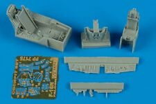 Aires 1/72 F-16N Aggressor COCKPIT SET FOR HASEGAWA KIT # 7175