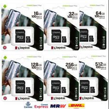 Tarjeta Memoria microSD Kingston Canvas Select Plus 16GB 32GB 64GB 128GB 256GB