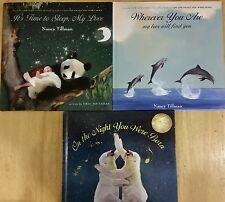 NANCY TILLMAN Beautiful SET of 3 Hardcover Children's Story Picture Books
