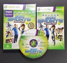 Kinect Sports Season Two 2 (Microsoft Xbox 360, 2011) Xbox 360 Kinect Game