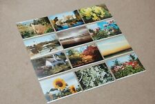 Somerset Woman's Institutes Postcards, 12 Photographic Postcards, Unused