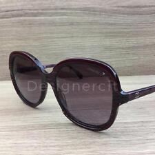 2d841b632825e Chanel 5320 Sunglasses Bordeaux Marble Glittered 1517 S1 Authentic 56mm