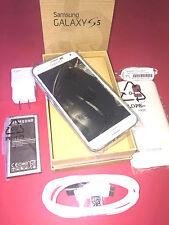Nene Samsung Galaxy S5 SM-G900V 16GB White Verizon Smartphone 1 Year Warranty