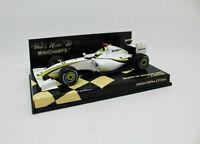 MINICHAMPS 1/43 - Brawn GP Showcar 2009 J. Button 400090092