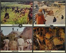 PLANET OF THE APES 1968 ORIG 8X10 LOBBY CARD SET CHARLTON HESTON RODDY McDOWALL