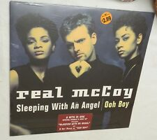 "12"" Single, THE REAL McCOY sleeping with an angel / ooh boy,  SEALED!!"