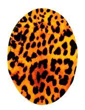 Jeans Applikation  zum Aufbügeln, Bügelbild 4-025 Leopard-Muster (feiner Stoff)