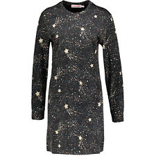 SEE BY CHLOE Star & Universe Tunic Dress Black BNWT