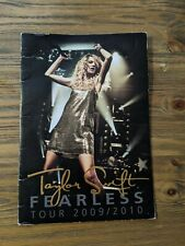 Taylor Swift Fearless Tour 2009/2010 Concert Tour Book