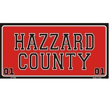 Hazzard County Dukes Of Hazzard Novelty Vanity License Plate Tag Sign