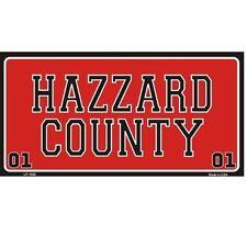 Hazzard County Dukes Of Hazzard Novelty Vanity License Plate Tag Sign