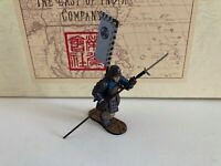 East of India figures  SCA26T  3 Tokugawa  Troops - Assault line 4 white flags