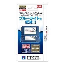 HORI 3DS-433 Blue-light Cut & Air-Zero Screen Films for NEW Nintendo 3DS LL (XL)