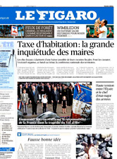 Le Figaro 17.7.2017 N°22685*MACRON & ARMÉE*TAXE HABITATION*WIMBLEDON*Vél'd'Hiv'