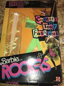 Barbie & The Rockers Concert Tour Fashions #3393 New NRFP 1986 Mattel, Inc.