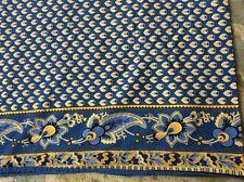 WILLIAMS SONOMA Beautiful Tablecloth Made in India