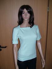 PREGO, Damen, Strick Oberteil Shirt Pulli kurzarm grün Pistazie, Gr. M, Neu!