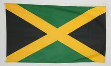 Jamaika Fahnen Flaggen Hissfahne mit Ösen 90x150 cm für Mast Deko Garten Haus