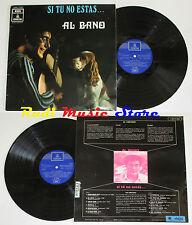 LP 33 AL BANO CARRISI Si tu no estas 1969 spain ODEON no cd mc dvd vhs