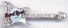 Hard Rock Cafe MELBOURNE 1999 ARIA Guitar PIN - SILVER - HRC #5434