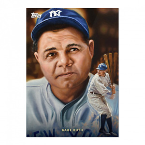 2021 TOPPS NOW Game Within The Game #2 BABE RUTH New York Yankees! New Set!! A1A