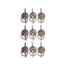 Tim Holtz Idea-ology Ring Fasteners - 9pcs Antique Nickel, Brass & Copper