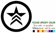 "Mass Effect Renegade Graphic Die Cut decal sticker Car Truck Boat Window 6"""