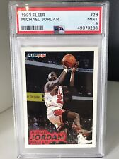 1993 Fleer Michael Jordan #28 PSA 9 Mint