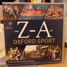 THE Z-A OF OXFORD SPORT Aud CDx8 PROF SIMON LEE NEW SEALED 2012