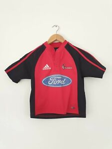 Adidas Canterbury Crusaders Rugby Jersey Super 14 Kids Size 8 Climacool
