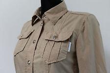 Marc Cain Women`s Dress Size N1 / 34 / UK 6 Cotton Beige Marccain Sports