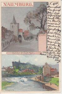 Ansichtskarte Sachsen - Anhalt  Naumburg  Bad Kösen   1900
