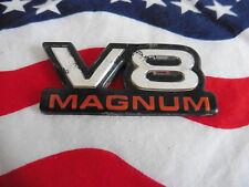 US DODGE V8 MAGNUM EMBLEM Chrysler SCHRIFTZUG Deko Logo Type Typ Modell Deco USA