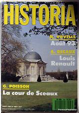 MAGAZINE HISTORIA LOUIS RENAULT No. 488 1987 Aa74k1