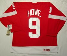 GORDIE HOWE - size XL - Detroit Red Wings CCM 550 VINTAGE series Hockey Jersey