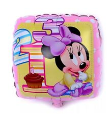 1st DISNEY OFFICIAL MINNIE MOUSE BALLOON BIRTHDAY PARTY SUPPLIES BABY SHOWER