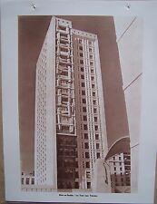 A35) planche ALGERIE ALGER Diar es Saâda la tour aux totems
