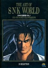 ART OF SNK WORLD NEO GEO ILLUSTRATIONS ART BOOK 1994 VOL.1/2 KING OF FIGHTERS