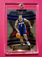 Zion Williamson PANINI SELECT CONCOURSE ROOKIE 2019-20 RC #1 WELL CENTERED Mint!