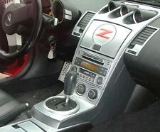2003 2004 2005 INTERIOR SILVER ALUMINUM DASH TRIM KIT SET FOR NISSAN 350Z Z33