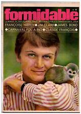 ▬►FORMIDABLE N° 4 (1965) CLAUDE FRANÇOIS_FRANÇOISE HARDY_HERVÉ VILARD_JAMES BOND