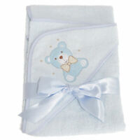 Snuggle Baby Hooded Towel For Someone Special With Teddy Bear Design (BABY1469)