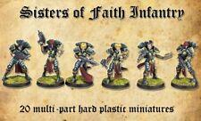 SISTERS OF FAITH - SHIELDWOLF MINIATURES