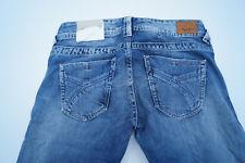 PEPE JEANS Olympia Damen Hose Bootcut 27/34 W27 L34 stonewashed blau Neu