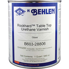Behlen Rockhard™ Table Top Varnish, Quart, Gloss Finish (B603-28806)
