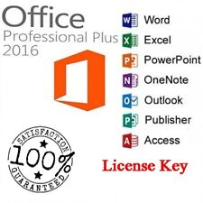 OFFICE 2016 PRO PLUS LICENSE-KEY 32/64 BIT-Fast Delivery